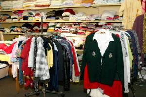 Kleidung in großer Auswahl