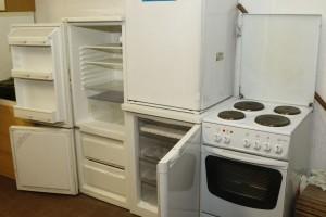 Verschiedene Küchengeräte