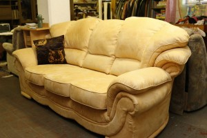 Couch in Gelb
