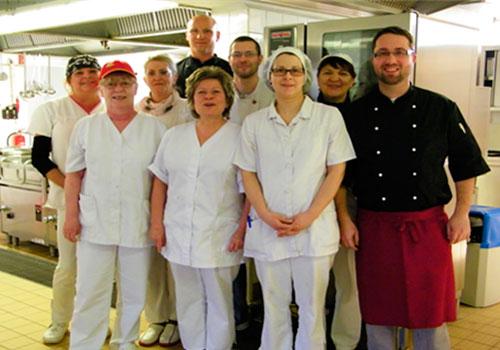 LUBA Küchen-Team