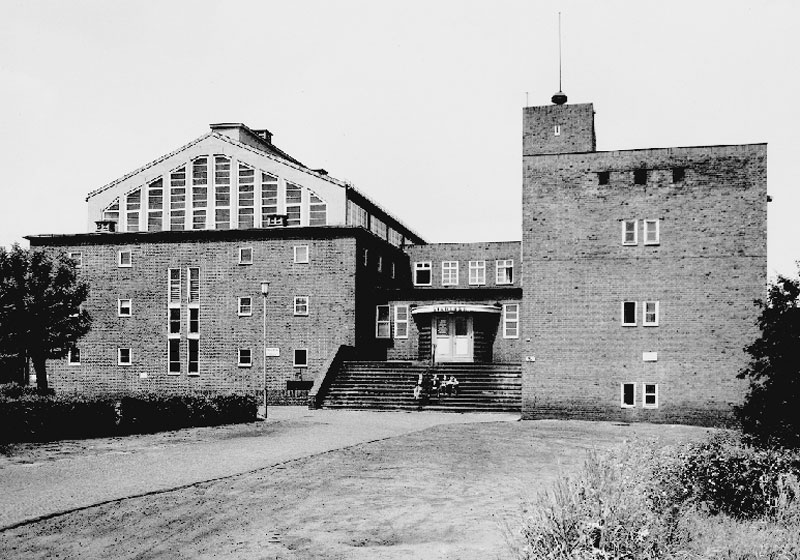 Altes Stadtbad 1928, Architekt: Hans Hertlein