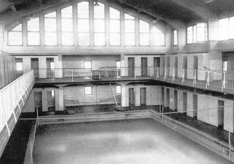 Altes Stadtbad 1928, Innenansicht