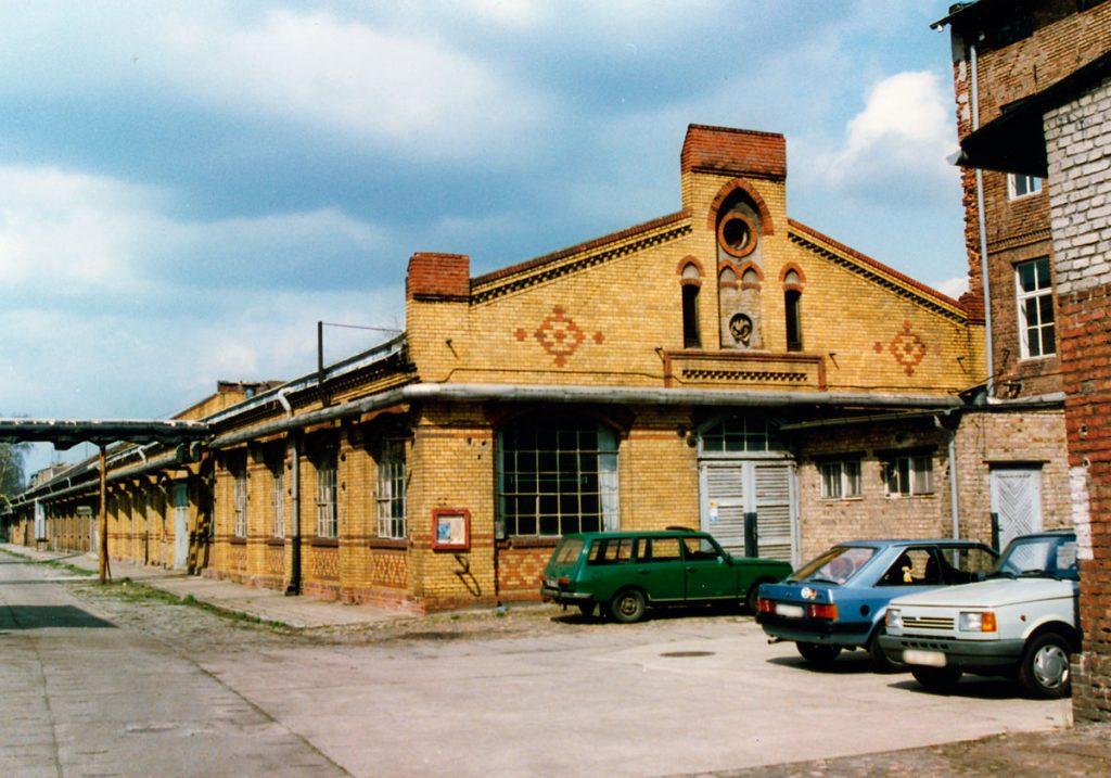 Volltuchgelände Luckenwalde 1992